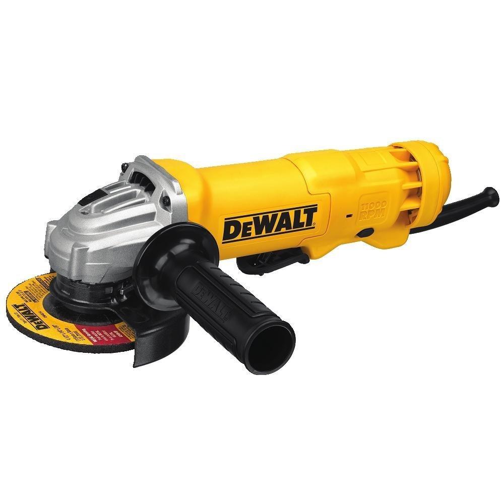 Dewalt angle grinder tool, paddle switch, 4-1/2-inch, 11-amp (DWE402):