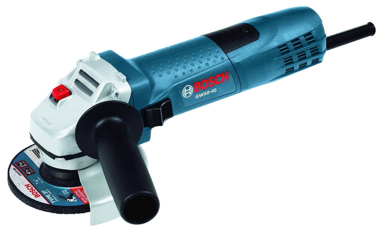 Bosch 4-1/2 inch angle grinder GWS8-45: