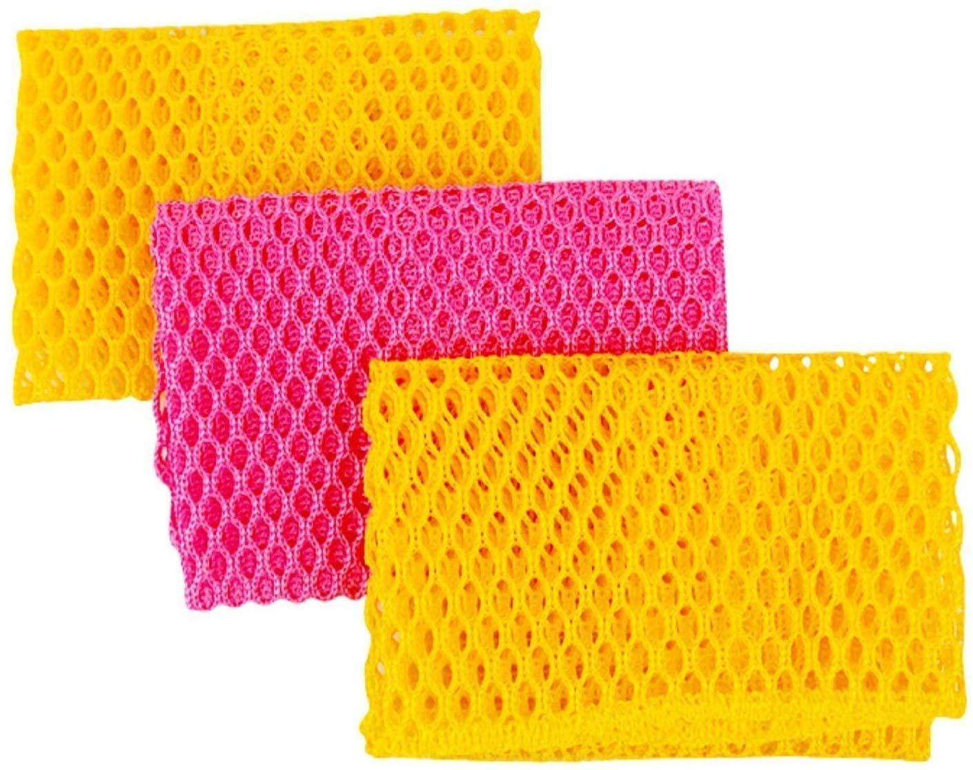 Innovation Dishwashing Net Cloths/ Scourer-100% Odor-free/quick Dry-no More Sponges