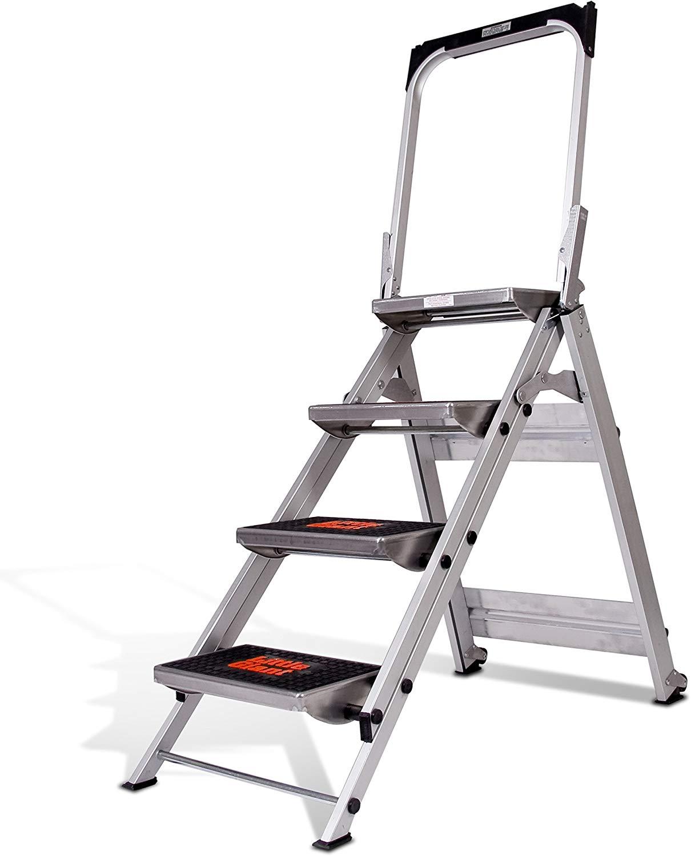 Xtend & Climb SL3HLight Slimline 3 Step Ladder, Aluminum