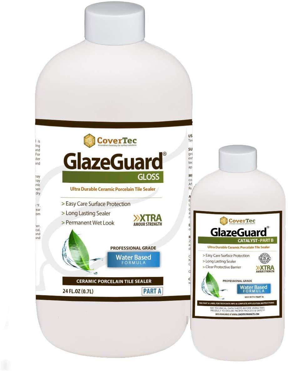 GlazeGuard Gloss Floor/Wall Sealer for Ceramic, Porcelain