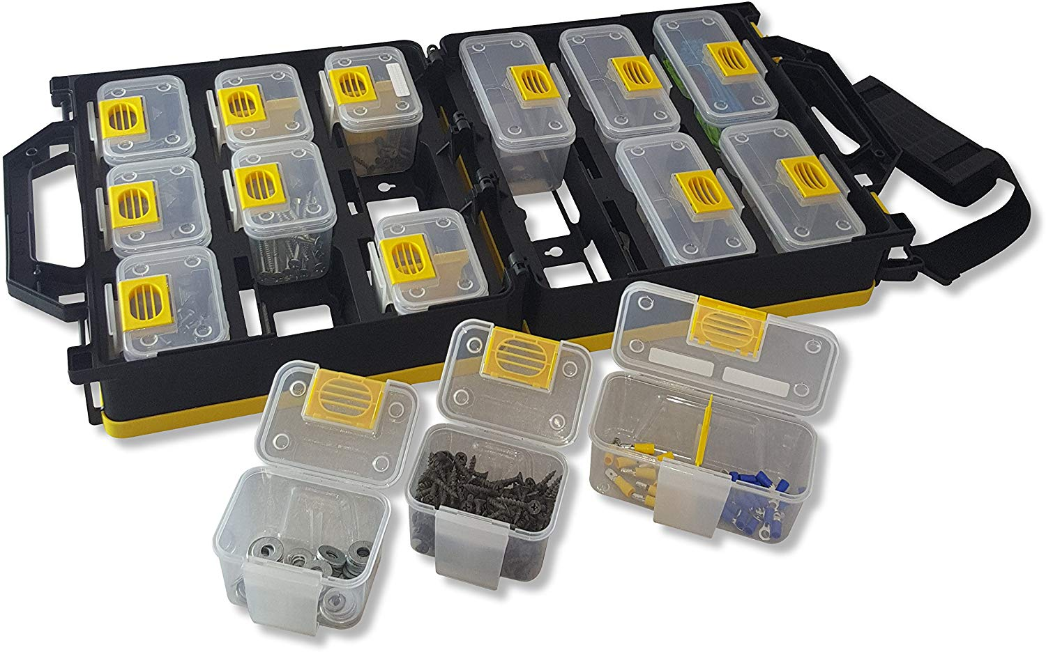 WorkVanEquipment Mobile Hardware Case Tackle Box - US Patented