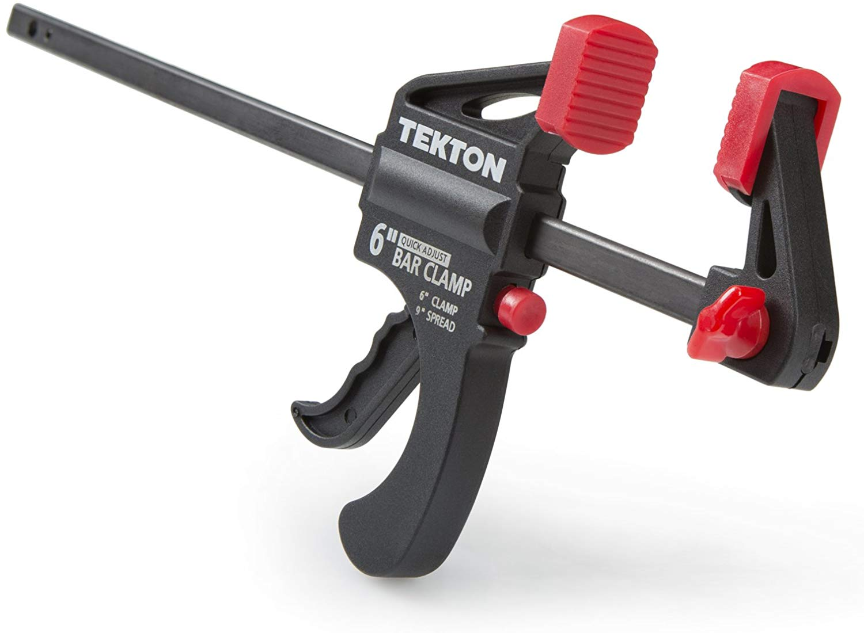 TEKTON Mini 6-Inch x 1-1/2-Inch Ratchet Bar Clamp