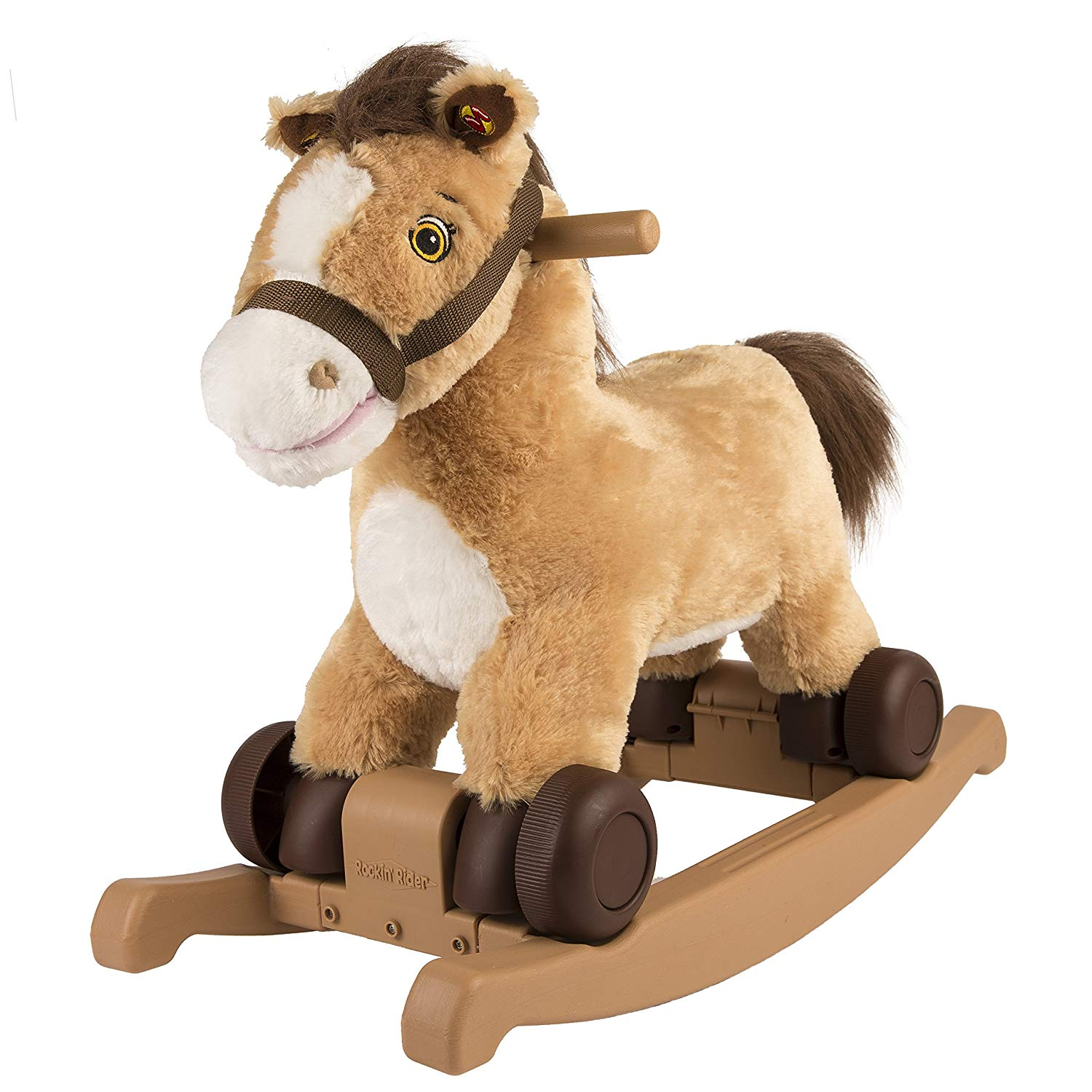Rockin' Rider Charger 2-in-1 Pony Ride-On.