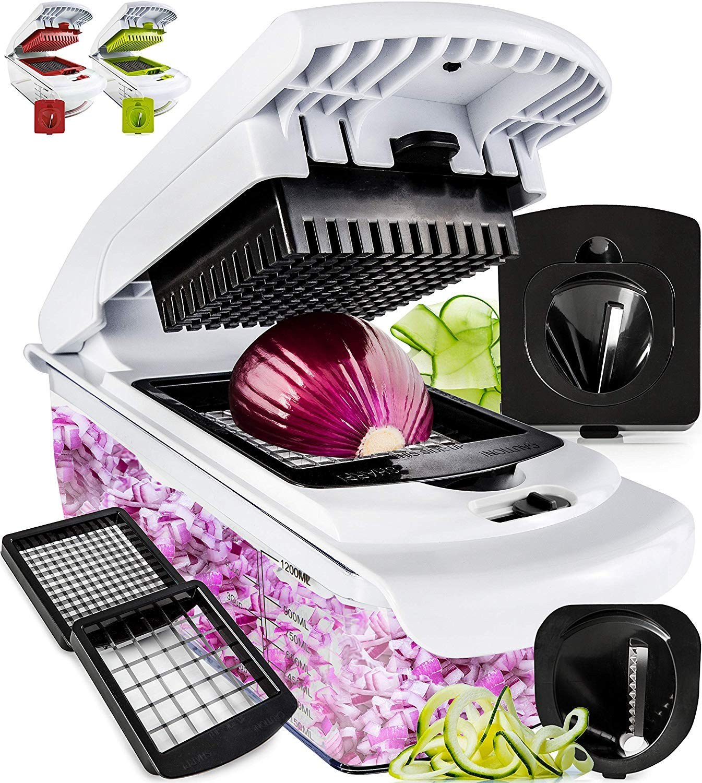 Fullstar Vegetable Chopper - Spiralizer Vegetable Slicer