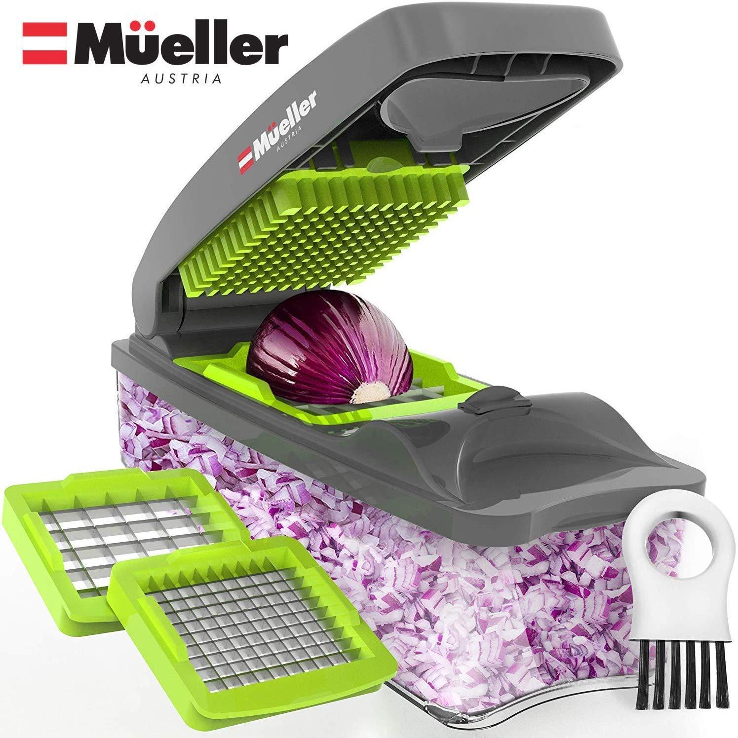 Mueller Onion Chopper Pro Vegetable Chopper:
