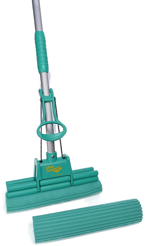 "The Super Standard 11"" Double Roller PVA Sponge Mop Set"