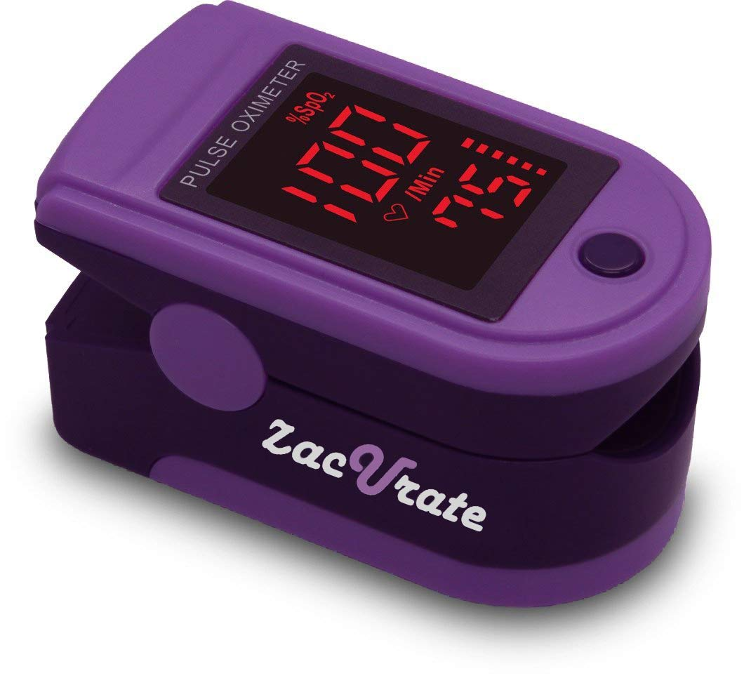 Zacurate Pro Series 500DL Fingertip Pulse Oximeter Blood