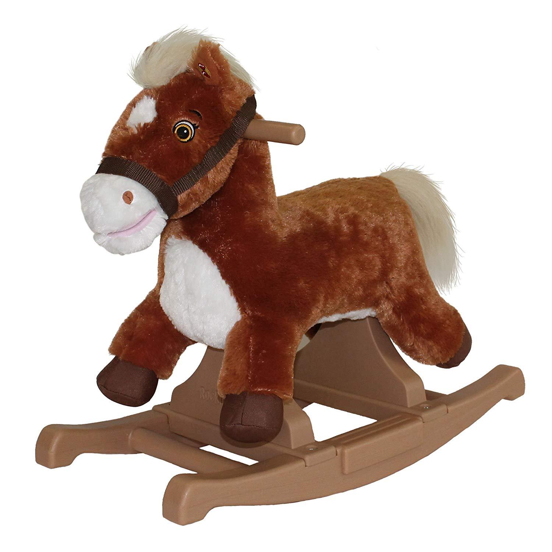 Rockin' Rider Brown Rocking Pony.