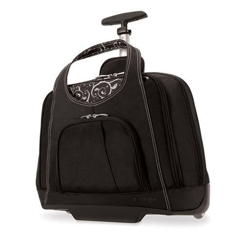 Kensington K62533us Contour Balance Notebook Roller Bag in Onyx